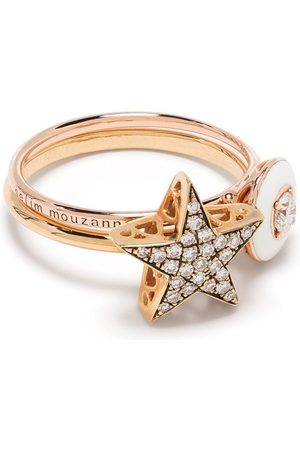 SELIM MOUZANNAR Women Rings - 18kt rose Mina & Istanbul Star ring set