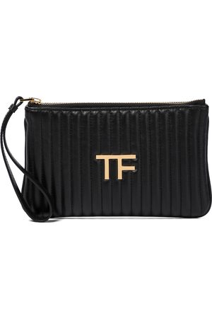 Tom Ford TF quilted leather clutch