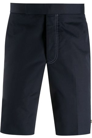 Thom Browne Men Chinos - Slim chino shorts