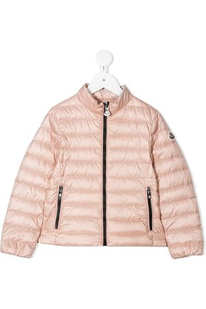 Moncler Girls Jackets - Zipped padded jacket
