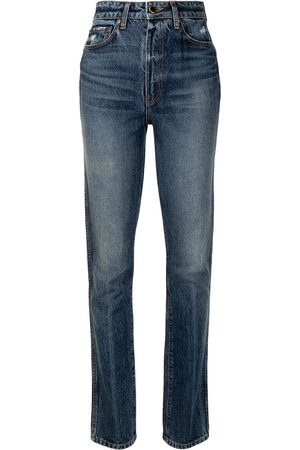 Khaite Women Slim - Daria high-waist slim-fit jeans