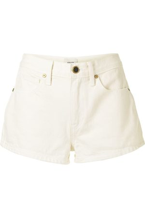 Khaite Charlotte low-rise denim shorts