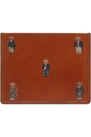 Polo Ralph Lauren Men Wallets - All Over Bear Card Holder