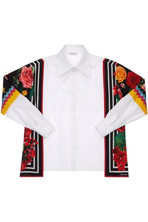 Dolce & Gabbana Girls Shirts - Cotton Poplin Shirt