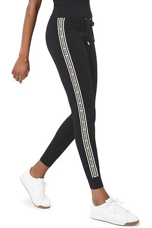 Michael Kors Textured Logo Tape Joggers