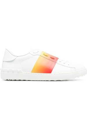 Valentino MEN'S VY2S0830GRK3ZM LEATHER SNEAKERS