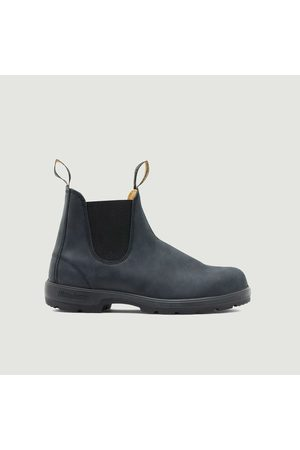 Blundstone Men Ankle Boots - Classic Chelsea Boots rustic