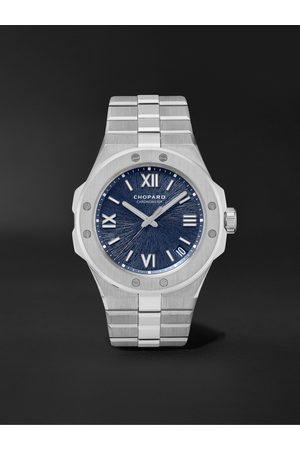 Chopard Men Watches - Alpine Eagle Large Automatic 41mm Lucent Steel Watch, Ref. No. 298600-3001