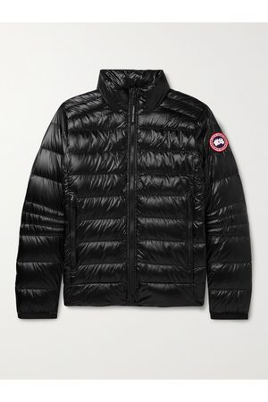 Canada Goose Men Jackets - Crofton Slim-Fit Quilted Recycled Nylon-Ripstop Down Jacket