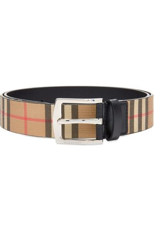 Burberry Men Belts - Vintage Check Belt