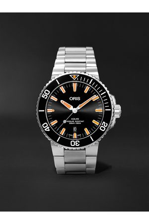 Oris Aquis Date Automatic 43.5mm Stainless Steel Watch, Ref. No. 01 733 7730 4159-07 8 24 05PEB