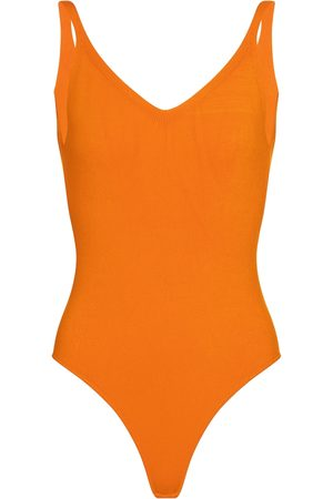 DRIES VAN NOTEN V-neck bodysuit