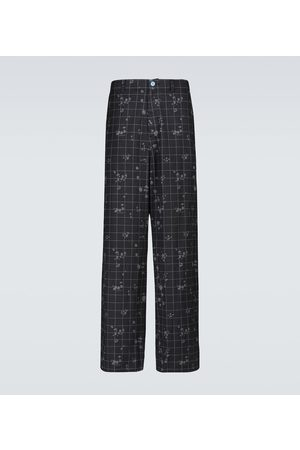 UNDERCOVER Checked cotton pants