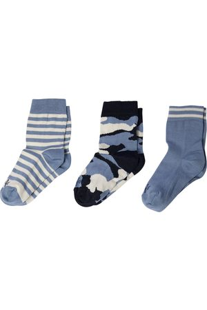 Il gufo Set of 3 cotton-blend socks