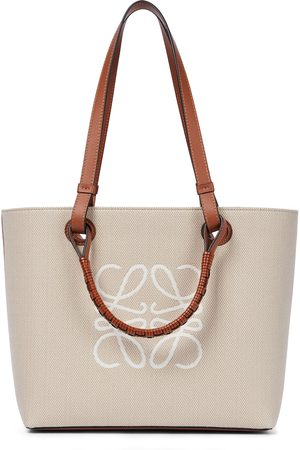 Loewe Women Tote Bags - Anagram Small canvas tote