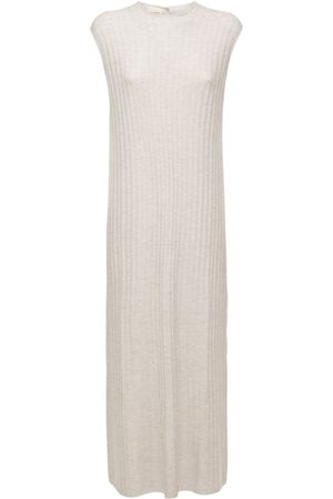 Loulou Studio Women Knitted Dresses - Andrott Wool & Cashmere Knit Long Dress