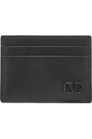 VALENTINO Men Wallets - Leather Go Logo Card Holder