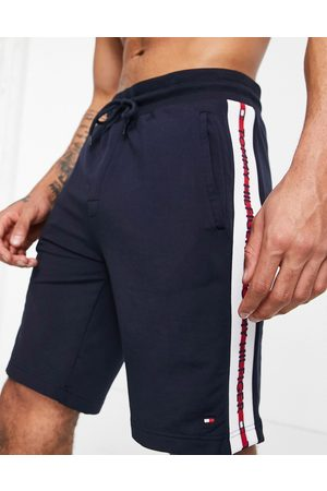 Tommy Hilfiger Lounge shorts with side logo taping in
