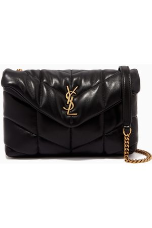 Saint Laurent Women Clutches - Loulou Puffer Toy Bag in Quilted Lambskin