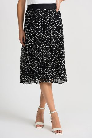 Joseph Ribkoff SPOT PLEAT SKIRT
