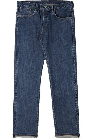 Edwin Men Tapered - Regular Tapered Jeans - Made in Japan - Even Wash Mid L32