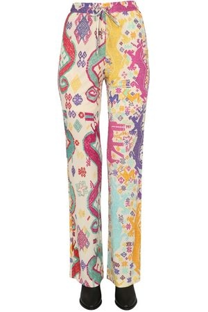Etro WOMEN'S 1449843648000 MULTICOLOR OTHER MATERIALS PANTS