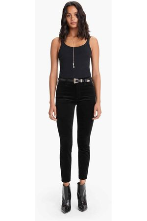 Mother High Waisted Looker Ankle - Soft Skills