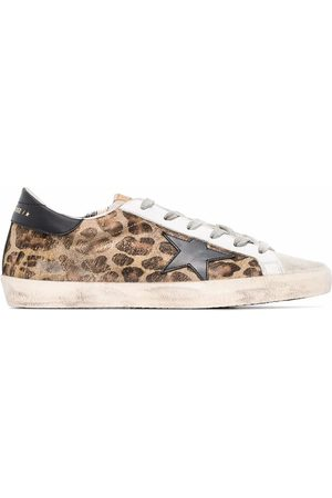 Golden Goose WOMEN'S GWF00101F00056580189 LEATHER SNEAKERS