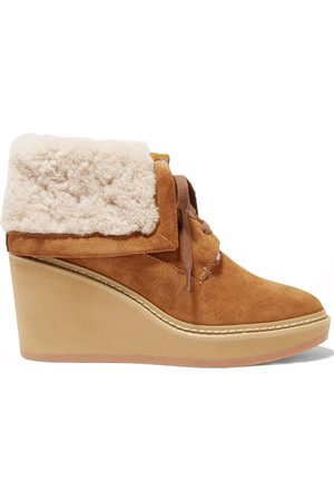 Chloé Women Ankle Boots - Martinica Shearling Ankle Boots