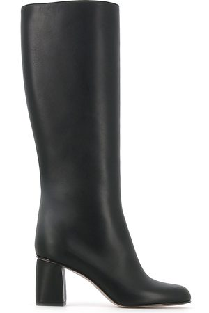 Red V 75mm KNEE-HIGH BOOTS