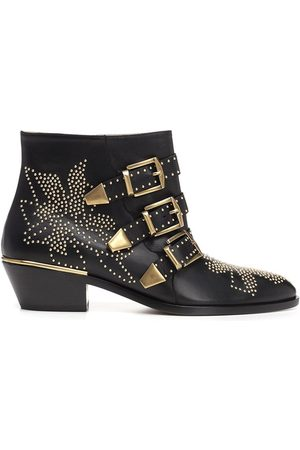 Chloe CHLO WOMEN'S CHC16A134750ZY OTHER MATERIALS ANKLE BOOTS