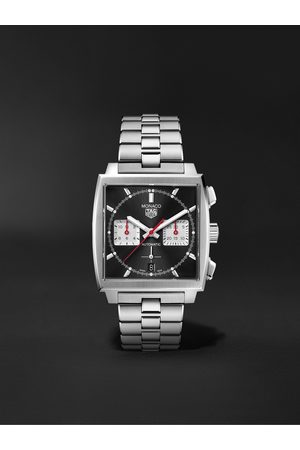 Tag Heuer Men Watches - Monaco Automatic Chronograph 39mm Stainless Steel Watch, Ref. No. CBL2113.BA0644