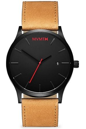 MVMT Men Watches - Classic Stainless Steel & Leather-Strap Watch