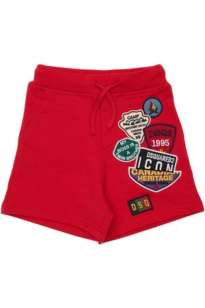 Dsquared2 Girls Shorts - Cotton Sweat Shorts W/ Patches