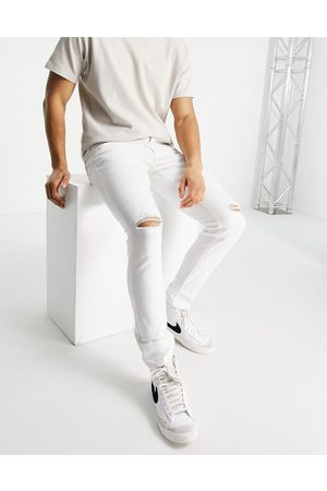 River Island Skinny jeans with rips in
