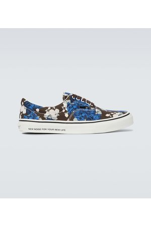 UNDERCOVER Men Sneakers - Floral canvas sneakers