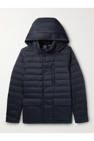 Moncler Men Winter Jackets - Andrea Quilted Shell Hooded Down Jacket