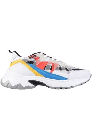 MSGM MEN'S 3040MS405203601 MULTICOLOR OTHER MATERIALS SNEAKERS