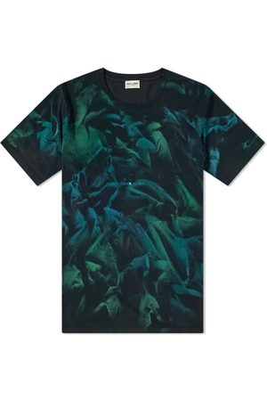 Saint Laurent Men Neckties - Archive Logo Tie Dye Tee
