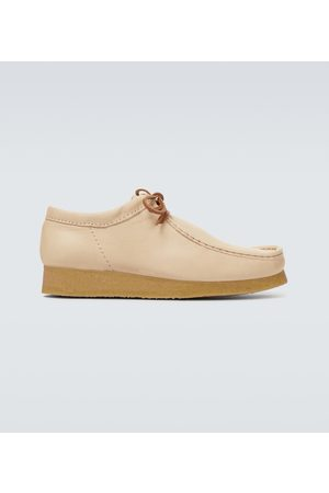 Clarks Wallabee leather boots