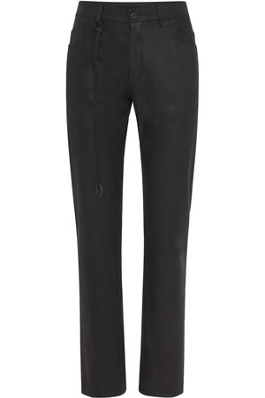 ANN DEMEULEMEESTER Men Leather Pants - Angelina Leather Pants