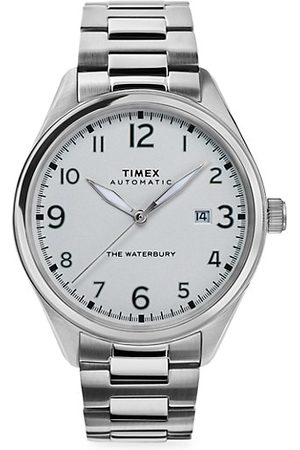 Timex Waterbury Traditional Automatic Stainless Steel Bracelet Watch