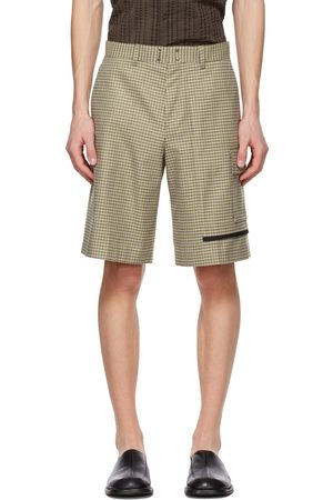 Andersson Bell & Beige Checked Shorts