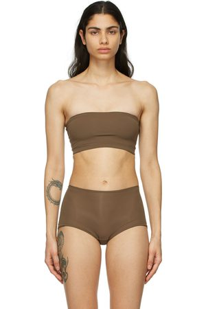 SKIMS Brown Fits Everybody Bandeau Bra
