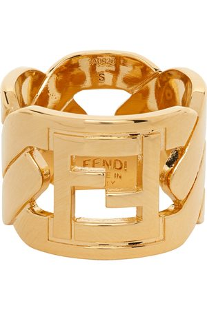 Fendi 'Forever Fendi' Chain Ring