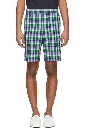 Thom Browne Madras Gusseted Patch Pocket Shorts