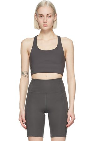Girlfriend Collective Grey Paloma Sports Bra