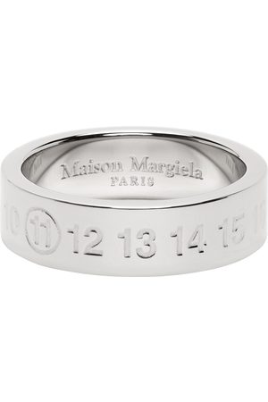 Maison Margiela SSENSE Exclusive Silver Numbers Ring