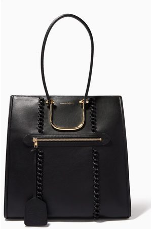 Alexander McQueen Women Tote Bags - The Tall Story Bag in Calf Leather