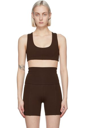 Live the Process Brown Onyx Sports Bra